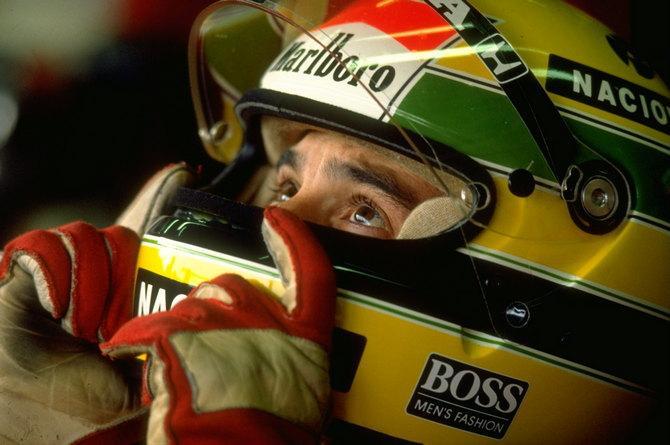 Легенда F1 Айртон Сенна завершил на подиуме более половины гонок за
