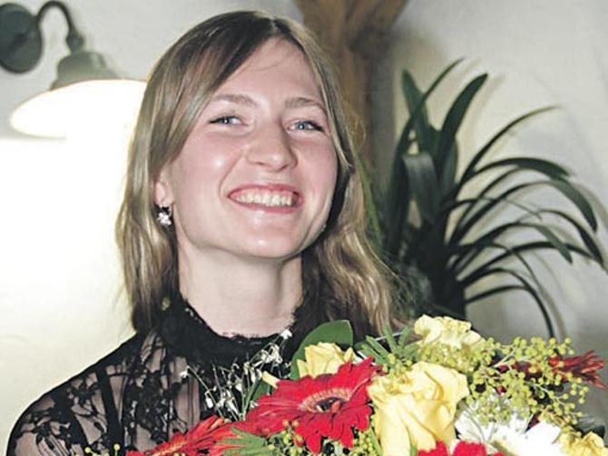 Дарья Домрачева - спортсменка, комсомолка и просто красавица.