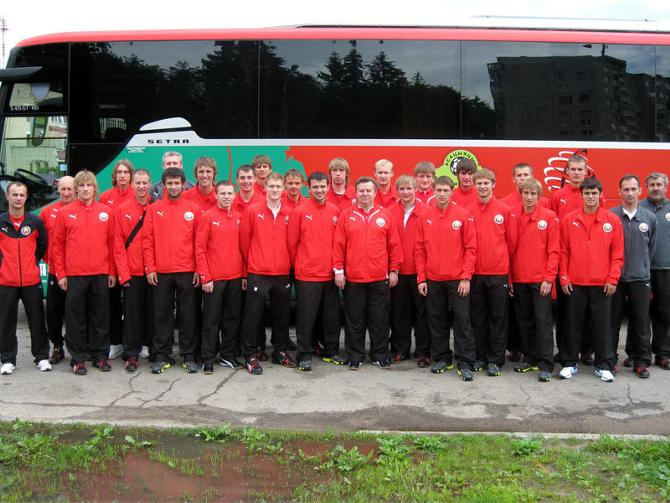 Футболисты «молодежки» Юрия Курненина сейчас находятся в «золотом» возрасте