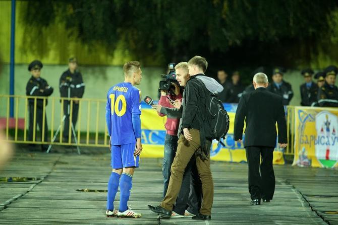 Сергей Кривец - герой ключевого матча 24-го тура.