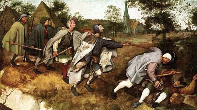 Белорусский спорт порой напоминает персонажей средневековых художников: куда идут нищие?