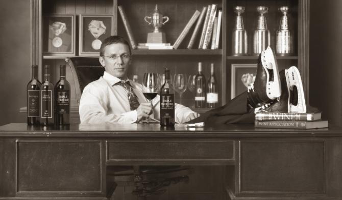 Игорь Ларионов всегда интересовался вином, а в последнее время ему интересна агентская деятельность.