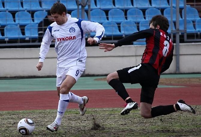 В первом матче сезона Вячеслав Глеб был хорош