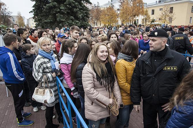 Школьники на стадионе — бренд белорусского футбола