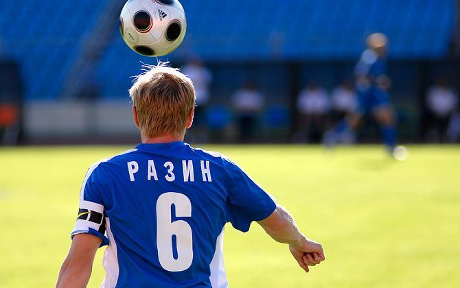 Андрей Разин сейчас показывает фантастический футбол.