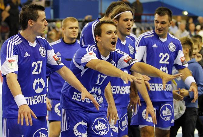 Минские динамовцы одержали вторую победу подряд в Лиге чемпионов