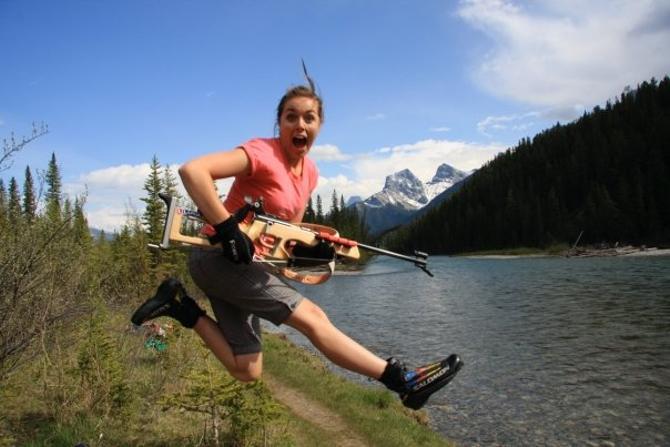 Биатлон добрался и до Новой Зеландии. Сара Мерфи этому несказанно рада.