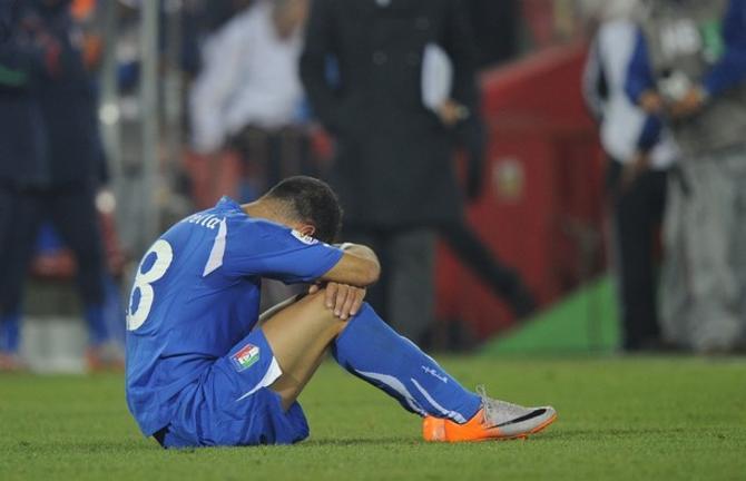 Фабио Куальярелла забил, возможно, самый красивый гол чемпионата мира, но его сборной это не помогло.
