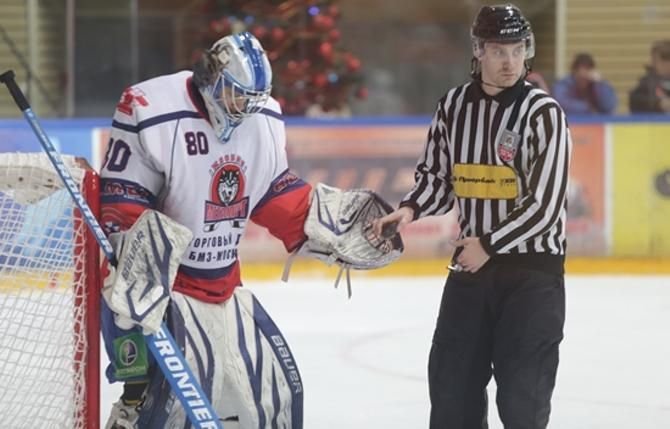 Дмитрий Мильчаков снова вернулся в Жлобин и снова сыграл на ноль.
