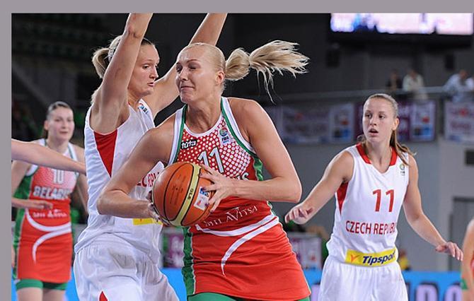 Елена Левченко старалась, но и ее усилий не хватило для рассчета с чешками