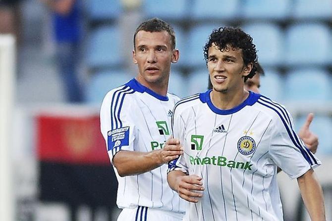 Андрей Шевченко забивает уже в пятом матче кряду.