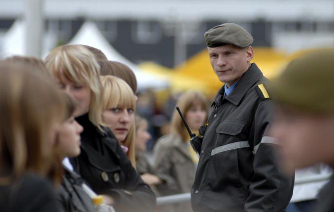 Вот бы милиция всегда так влюбленно смотрела на болельщиков (фото носит иллюстративный характер)