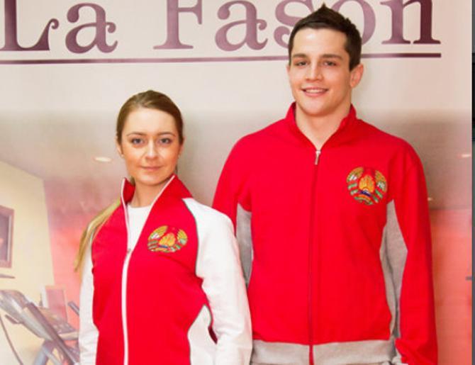 Форма белорусские спортсмены