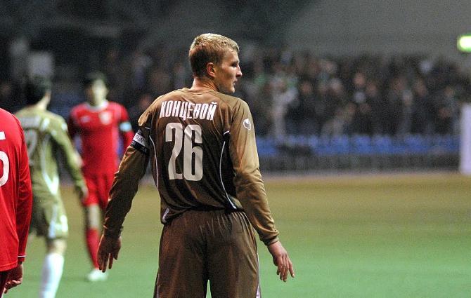 Сергей Концевой может выговорить любому игроку на поле, хоть ему и 24 года