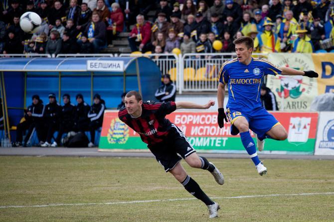 Дмитрий Мозолевский впервые забил за БАТЭ