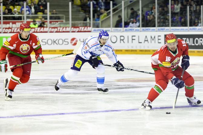 Второй матч в Финляндии получился у белорусов лучше, чем первый.