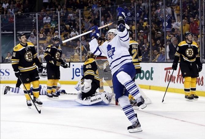 Любители хоккея предвкушают ударную игру Михаила Грабовского в Air Canada Centre