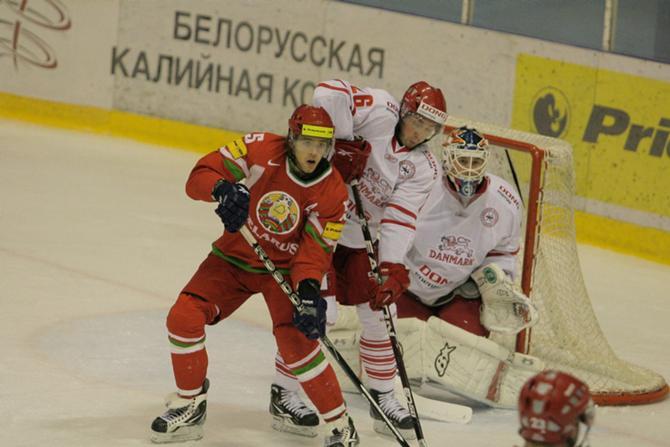 Сергей Дрозд одно из немногих светлых пятен в нашей сборной на Кубке Полесья.
