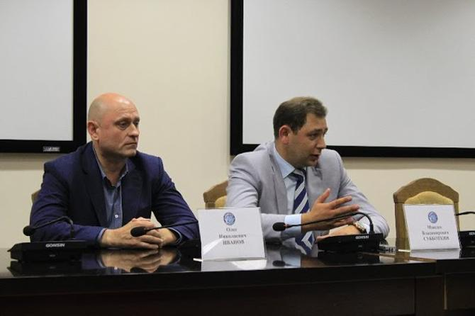 Олег Иванов и Максим Субботкин