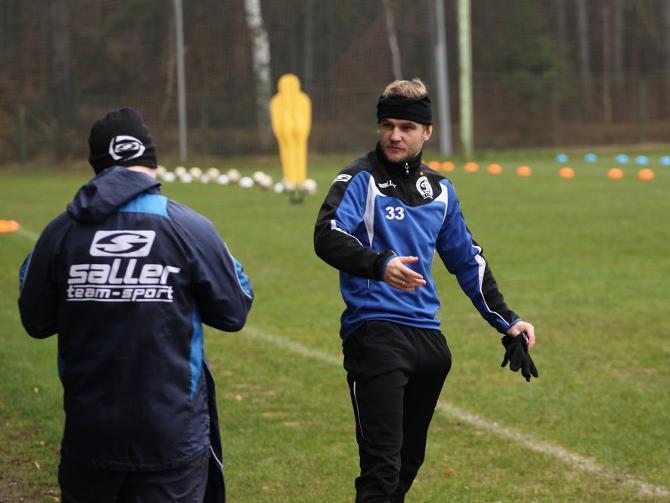 Несмотря на дисквалификацию, Дмитрий Молош на тренировках выкладывается на полную