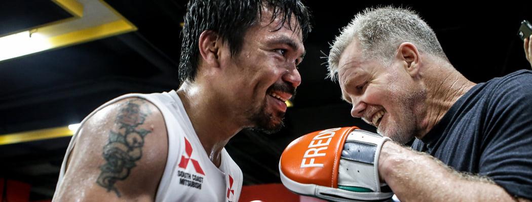 Белорус-чемпион тренируется у гуру мирового бокса – он подготовил Пакьяо и больше 30 лет болеет Паркинсоном