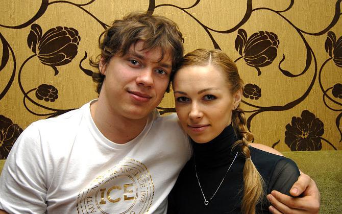 Андрей Стась считает, что его супруга (в прошлом гимнастка) Валерия Курильская способствует его прогрессу