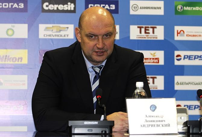 Александр Андриевский недоволен некоторыми игроками, но заменить их некем