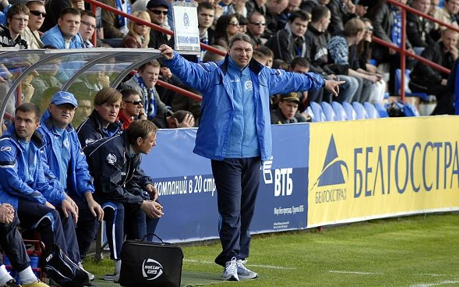 Сергей Овчинников обещает за неделю изменить команду