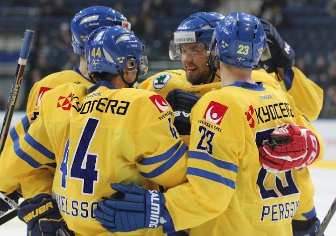 Маститые шведы все же довели дело по победы