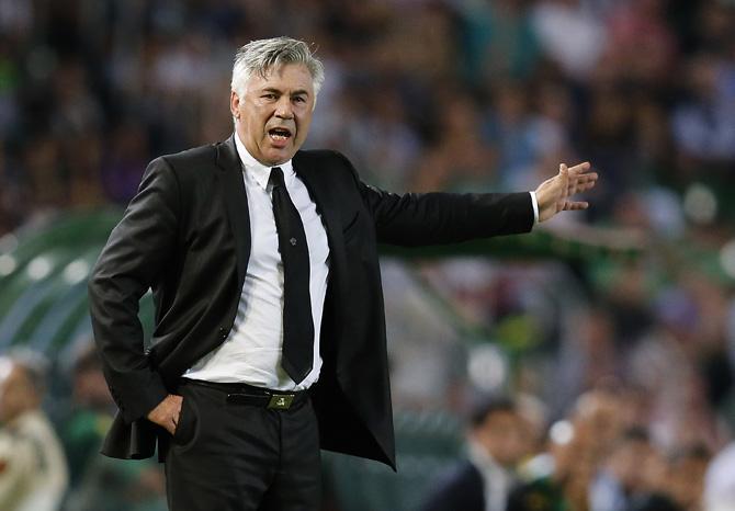 Основную проблему «Реала» Карло Анчелотти видит в недостатке скорости