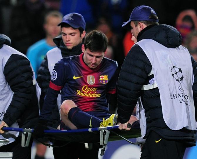 Без Месси «Барселоне» предстоит играть до конца года