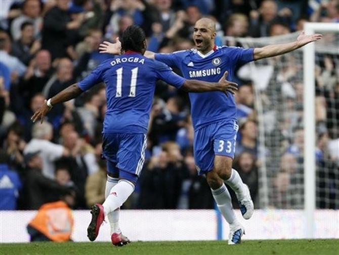 Алекс и Дидье Дрогба принесли победу «Челси».