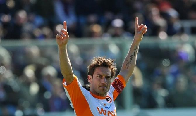 Франческо Тотти в минувшем туре перешагнул рубеж в 200 голов в серии А.