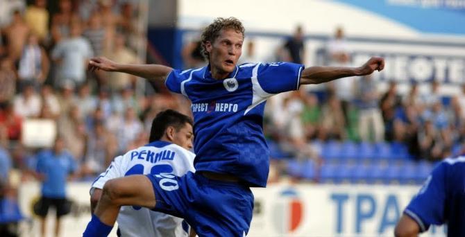 Дмитрий Макар забивает только аутсайдерам, но мечтает о голе в ворота БАТЭ.
