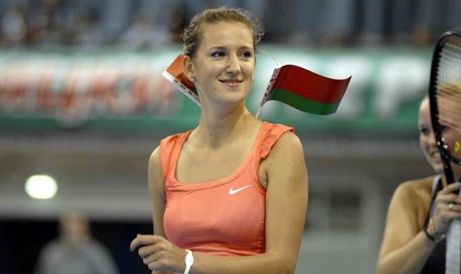 Виктории Азаренко в свое время помогла пробиться фирма, внесенная в черные списке ЕС