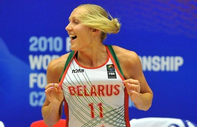 Елена Левченко радуется победе над Россией.