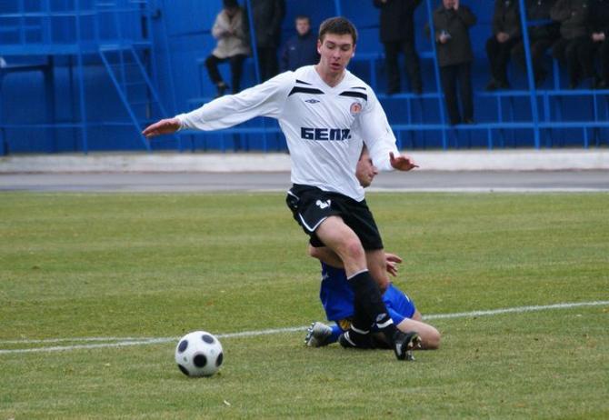 Валерий Каршакевич забил первый гол в высшей лиге.