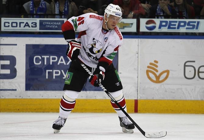 Игру против минского «Динамо» Андрей Костицын закончил с показателем «-1»