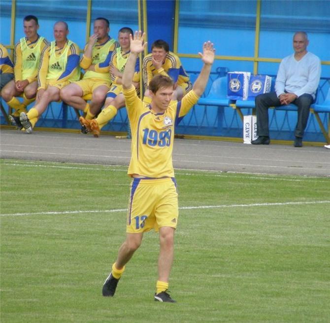 Александр Глеб начинал свою карьеру в БАТЭ.