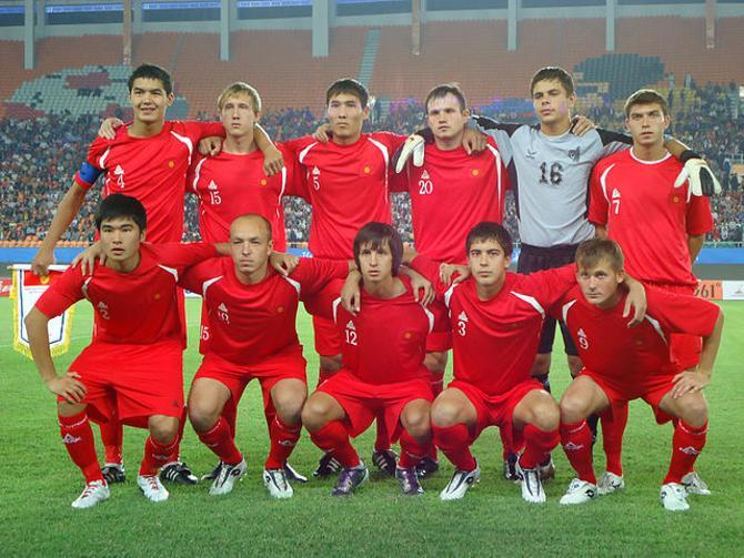 У футболистов сборной Кыргызстана нечасто находится повод для радости