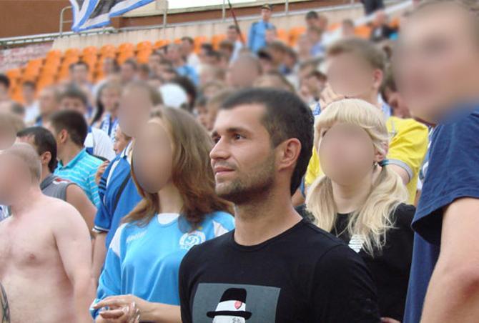 Сергею Кисляку находиться на фанатском секторе понравилось.