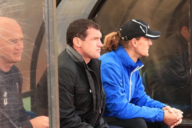 Команда Сергея Гуренко вновь не забивает. Но положительные тенденции в ее игре, по словам специалиста, заметны.