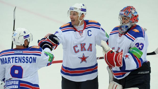 С Ильей Ковальчуком в составе СКА автоматически превращается в фаворита сезона номер один.