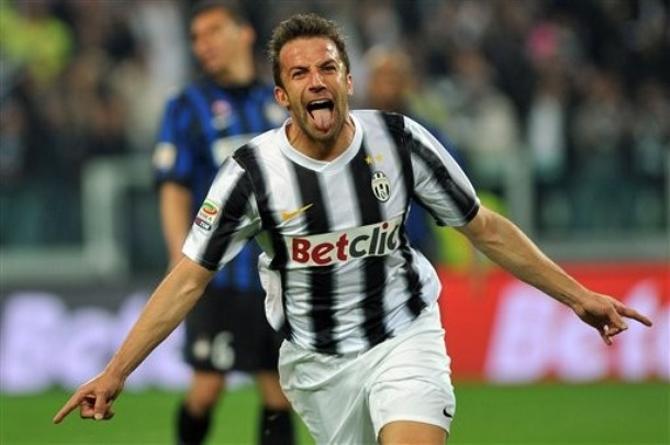 Только что Алекс Дель Пьеро добил «Интер».