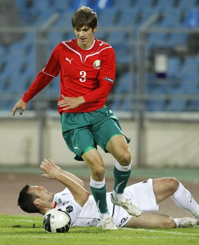 Александр Мартынович совершенно неожиданно потерял место в основном составе своего клуба