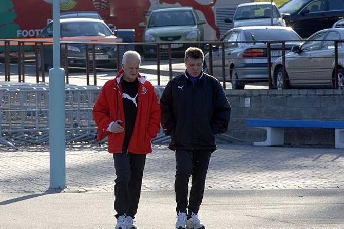Бернд Штанге и Андрей Скоробогатько. Вместе они -- сила