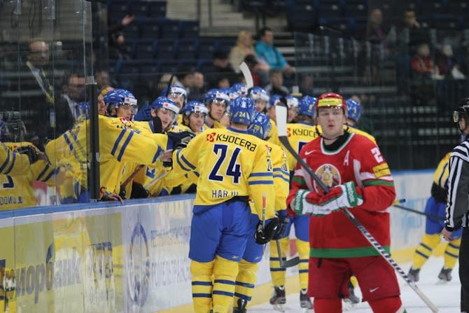 Белорусы были близки к тому, чтобы второй раз в своей истории переиграть шведов, но не сложилось
