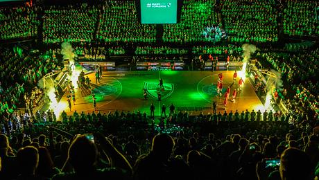 Клуб из Каунаса зажигает в баскетбольной Евролиге. Эмоции на литовской «Минск-Арене»