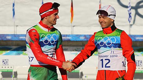 Белорусские мужики-биатлонисты могут. Пара доказательств
