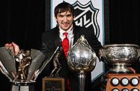 Овечкин и еще 10 русских игроков, получавших награды НХЛ